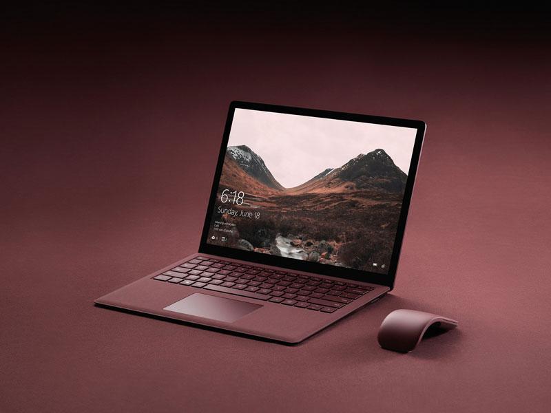 گالری تصاویر مایکروسافت سرفیس لپ تاپ