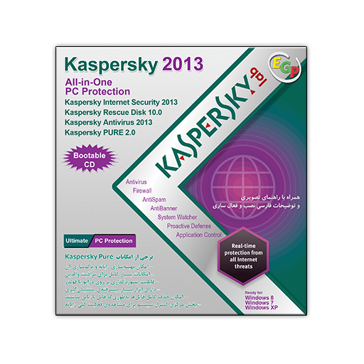 Kaspersky 2013 All in One PC Protection