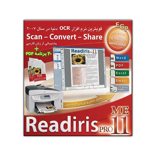 Readiris Pro 11 ME + PDF tools