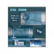 CSI 2008 (SAP2000 v11, ETABS v9.1.4, SAFE v8.x)