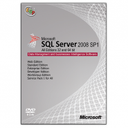 Microsoft SQL Server 2008 SP1 All Edition (32&64 bit)