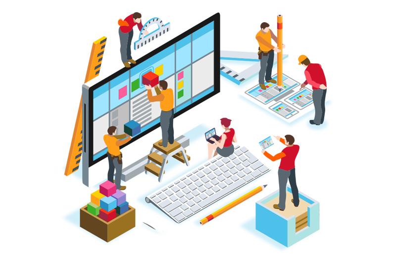 خدمات طراحی وب سایت